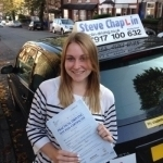 Annie Raynor passed with Steve Chaplin Driving School