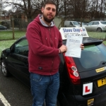 Ash Fletcher passed with Steve Chaplin Driving School