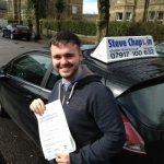 Bradleigh Henshaw passed with Steve Chaplin Driving School