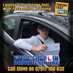 Jacob Horne passed with Steve Chaplin Driving School
