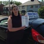 Caroline Hibbs passed with Steve Chaplin Driving School