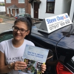 Chloe Smith passed with Steve Chaplin Driving School