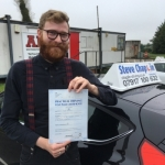 Daniel Yeomans passed with Steve Chaplin Driving School
