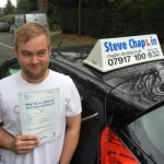 David Thompson passed with Steve Chaplin Driving School