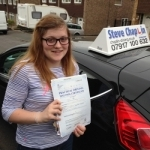 Emma Ashley passed with Steve Chaplin Driving School