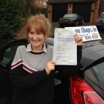 Georgia Arnold passed with Steve Chaplin Driving School