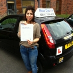 Halima Riaz passed with Steve Chaplin Driving School