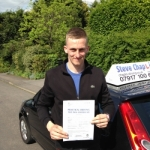 Harrison Parker passed with Steve Chaplin Driving School