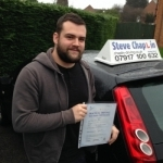 Jason Goff passed with Steve Chaplin Driving School