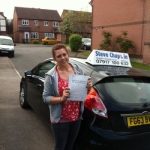 Jodie Cook passed with Steve Chaplin Driving School