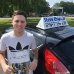Kallum Owen passed with Steve Chaplin Driving School