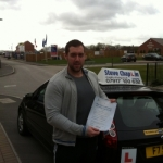 Kyran Parry passed with Steve Chaplin Driving School