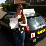 Lucy Cannon passed with Steve Chaplin Driving School