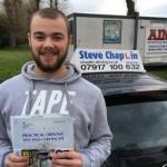 Luke Clark passed with Steve Chaplin Driving School