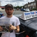 Michael Owen passed with Steve Chaplin Driving School