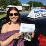 Molly Keyworth passed with Steve Chaplin Driving School