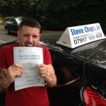 Nathan Town passed with Steve Chaplin Driving School