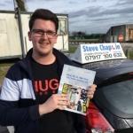 Sam Dawkins passed with Steve Chaplin Driving School