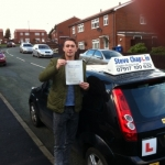 Scott Jacobs passed with Steve Chaplin Driving School