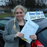 Stevie Short passed with Steve Chaplin Driving School