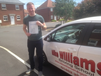 If you want to pass confidently and become a great driver, choose Mike Williams.