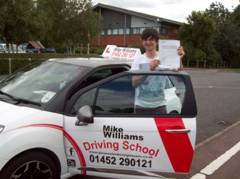 I chose Mike Williams Driving School because his Pass Rate is great, and he is so easy to get along with. When learning to drive I did not expect as much support as Mike gave me. His teaching methods were fantastic as they worked every time. I would highly recommend Mike Williams to everyone because amongst other things he helps you with every sing...