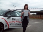Passed. Amber Rose Powell of Gloucester passed with Mike Williams Driving School
