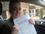 Passed. Becky Hannis of Gloucester passed with Mike Williams Driving School