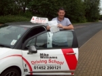 Passed. Billy Kehoe of Gloucester passed with Mike Williams Driving School