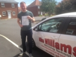Charlie Lloyd of Hempstead passed with Mike Williams Driving School