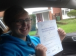 Passed. Chelsea Sysum of Gloucester passed with Mike Williams Driving School