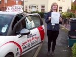 Passed. Chloe Walker of Gloucester passed with Mike Williams Driving School