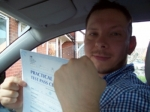 Passed. Clive Manning of Gloucester passed with Mike Williams Driving School