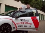 Passed. Daniel Palmer of Gloucester passed with Mike Williams Driving School