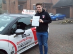 Passed. Dave Livesey of Gloucester passed with Mike Williams Driving School
