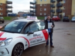 Passed. Dylan Parry of Gloucester passed with Mike Williams Driving School