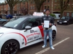 Passed. Fayaz Ahmed of Gloucester passed with Mike Williams Driving School