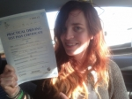 Passed. Francesca Lance of Gloucester passed with Mike Williams Driving School