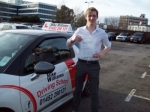 Passed. Glen Miles of Gloucester passed with Mike Williams Driving School