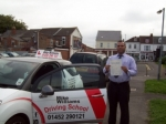 Passed. Hazi Hossain of Gloucester passed with Mike Williams Driving School