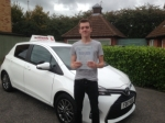 Tom Beeston of Gloucester passed with Mike Williams Driving School