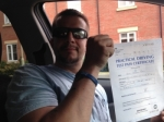 Dan Nash of Cheltenham passed with Mike Williams Driving School