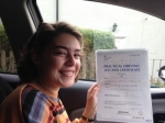 Stephanie Bagnall of Gloucester passed with Mike Williams Driving School