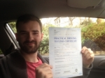 Passed. Jacob Prosser of Gloucester passed with Mike Williams Driving School