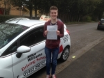 Passed. James Norman of Gloucester passed with Mike Williams Driving School