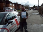 Passed. Jamie Shore of Gloucester passed with Mike Williams Driving School