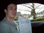 Passed. John Holmyard of Gloucester passed with Mike Williams Driving School
