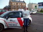 Passed. Karen Blagg of Gloucester passed with Mike Williams Driving School
