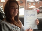 Passed. Kelsey Ryan of Gloucester passed with Mike Williams Driving School