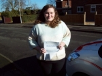 Passed. Kimberley Legge of Gloucester passed with Mike Williams Driving School
